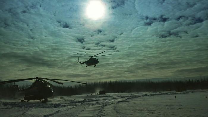 Еще немного фоток с работы Ми-8, Авиация, Работа, Фотография, Север, Зима, Длиннопост