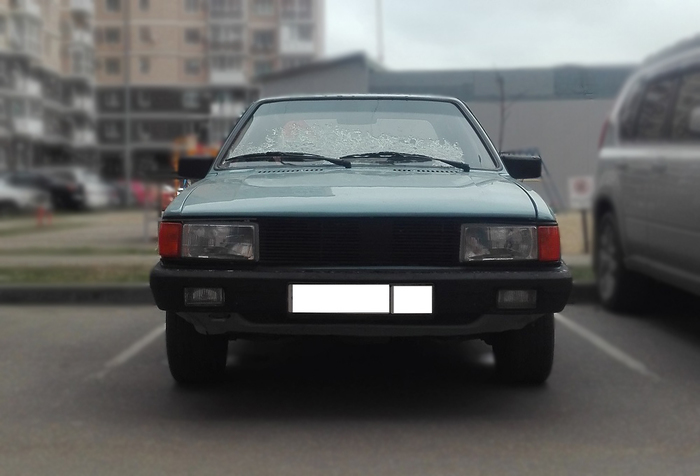 Красотка Ауди-80 Авто, 80-е, Audi, Седан, Цвет, Длиннопост