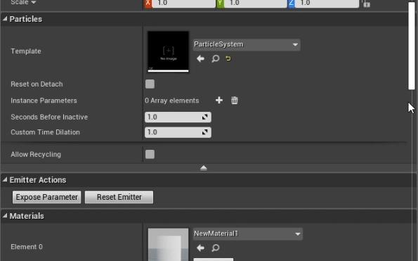 Немного неочевидных вещей в партикловой системе Cascade на UE4 Vfx, Unreal Engine 4, Gamedev, Effects, Tips, Гифка, Длиннопост