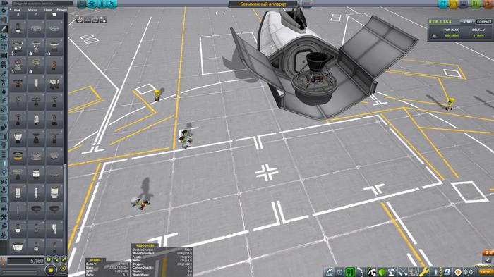KSP - KCEHOM - обзор СКАЛЬПЕЛЯ - самолет вертикального взлета и посадки (фото) Kerbal Space Program, Kcehom, Видео, Длиннопост