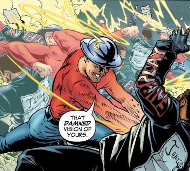 Супергеройские способности: Мистер Террифик Супергерои, DC Comics, Мистер террифик, Комиксы-Канон, Длиннопост