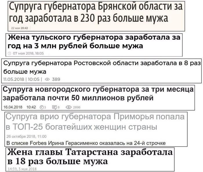 За каждым успешным мужчиной всегда стоит женщина ВКонтакте, Успех, Чиновники
