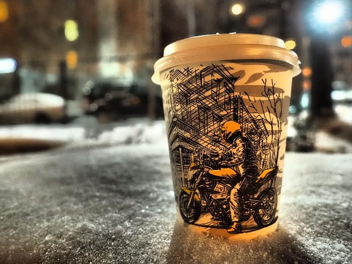 Люблю кофе)