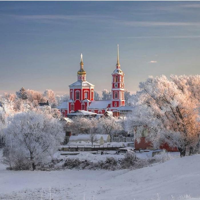 Борисоглебская церковь в Суздале