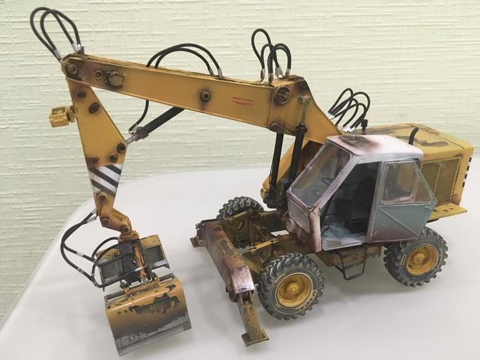 Weimar T174-2 (balaton models) Масштабная модель, Сельхозтехника, ГДР, Длиннопост