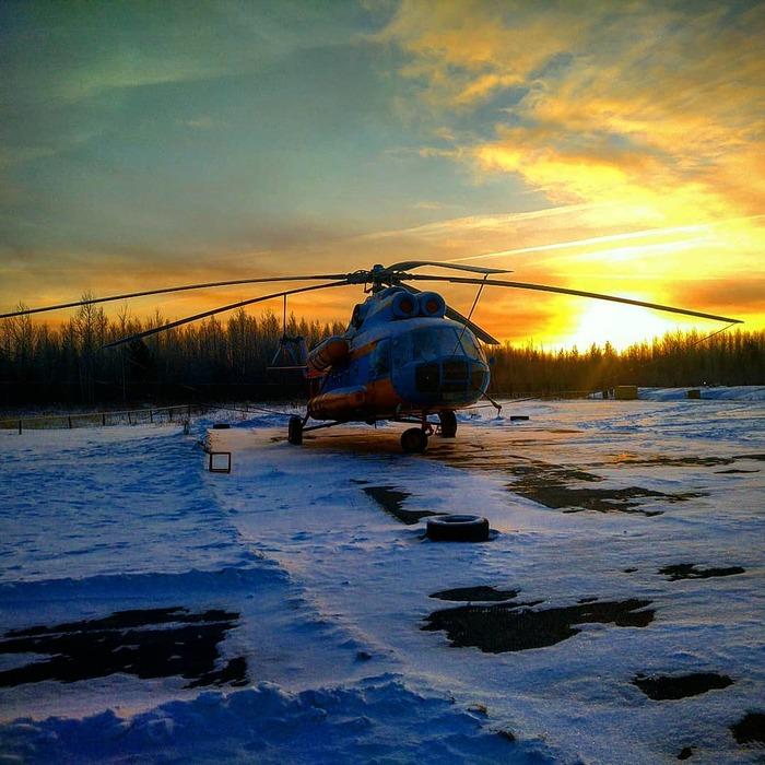 Фото с работы (часть 3) Работа, Север, Ми-8, Фотография, Зима, Лето, Авиация, Длиннопост