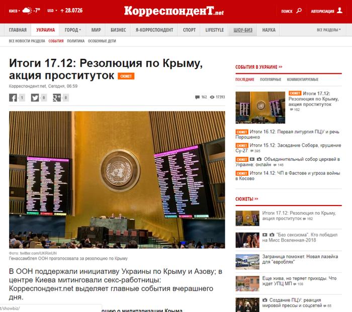 Случайности не случайны) Украина, Политика, Генассамблея ООН, Юмор