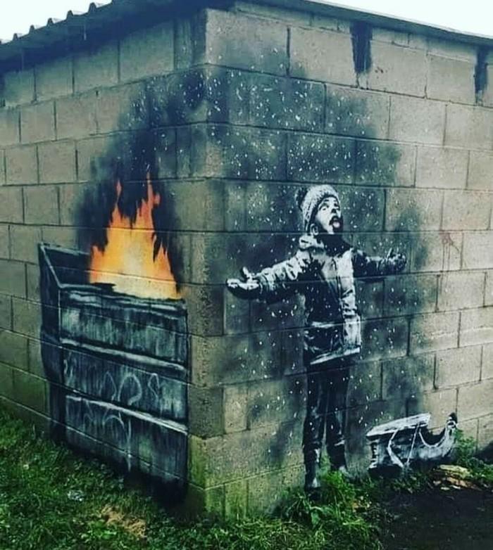 Интересный стрит арт. Стрит-Арт, Рисунок, Улица, Reddit, BBC, Фотография