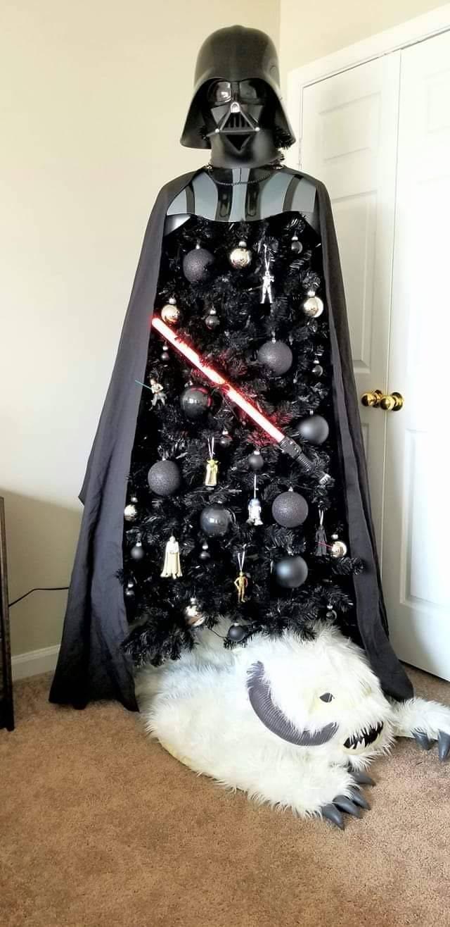 Люк, я твоя ёлка Дарт Вейдер, Ёлка, Новый год, Люк скайуокер