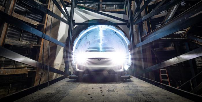 Илон Маск запустил свой первый туннель и показал Tesla-поезд Илон Маск, Tesla-Поезд, Spacex, Тоннель, Видео, Длиннопост