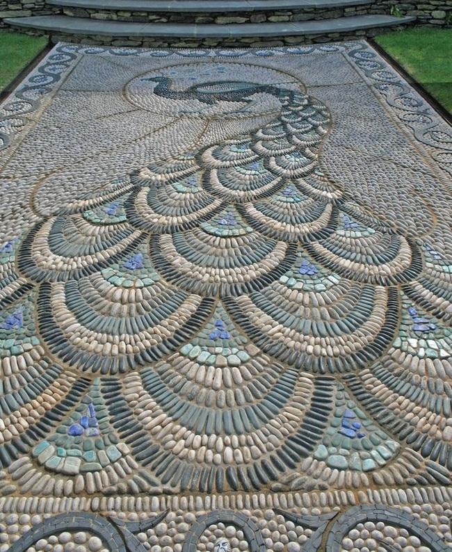 Мозайка из камня Мозаика, Камень, Длиннопост