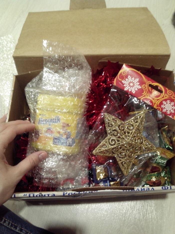 Мой новогодний подарочек из Омска Тайный Санта, Обмен подарками, Новый Год, Длиннопост, Отчет по обмену подарками