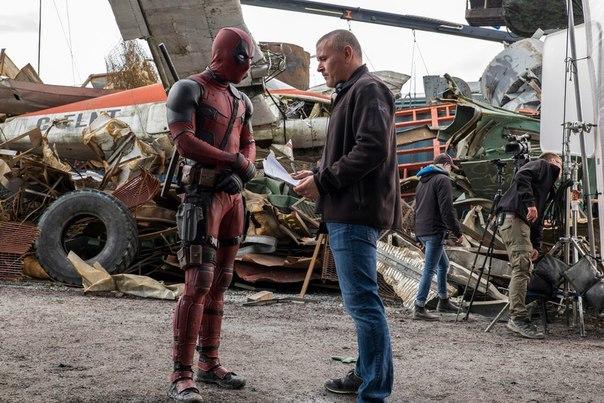 Фотографии со съёмок и интересные факты к фильмуДэдпул 2016 год Deadpool, Фильмы, Райан Рейнольдс, Знаменитости, Marvel, Фото со съемок, Длиннопост