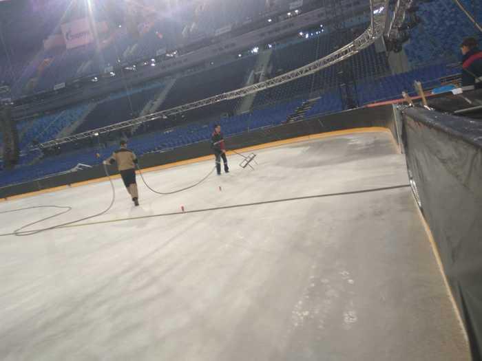 Газпром Арена (СКА)....  как это было. Другая сторона игры . Идём на рекорд, Ска, Лёд, Зенит, Газпром арена, Длиннопост