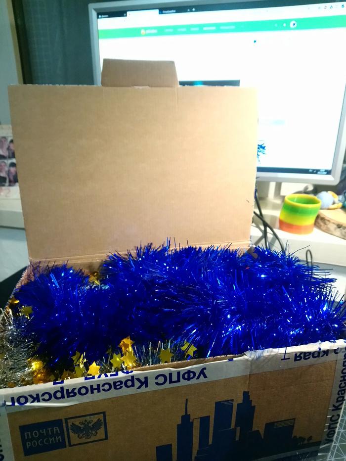 Двойное волшебство [АДМ] Отчет по обмену подарками, Тайный Санта, Новый Год, Длиннопост, Обмен подарками