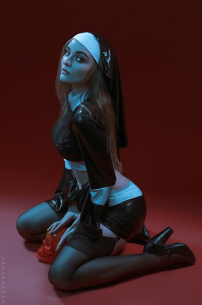 Nun by Sophie Letyago Косплей, Hitman, Hitman: Absolution, Nun, Монашка, Sophie Letyago, Длиннопост