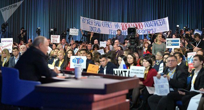 Говорят, что президент мог не заметить главный вопрос... Путин, Пресс-Конференция, Вопрос