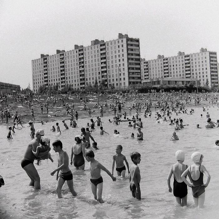 Москва, 1972 год. Москва, СССР, Черно-Белое фото, Длиннопост