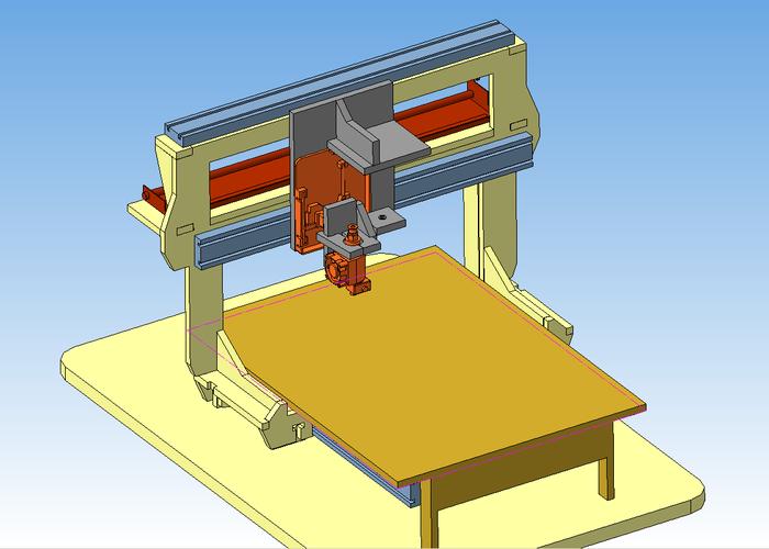 3D-принтер из фанеры и старых запчастей от принтеров