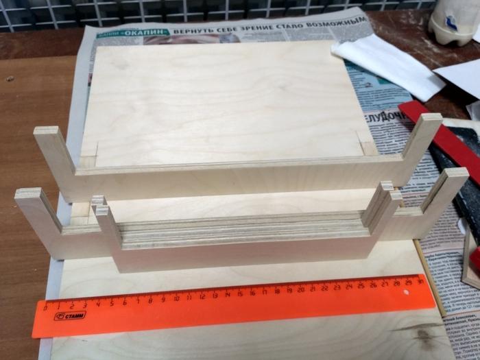 3D-принтер из фанеры и сÑ'Ð°Ñ€Ñ‹Ñ Ð·Ð°Ð¿Ñ‡Ð°ÑÑ'ей от принтеров 3d принтер, Творчество, 3d печать, Длиннопост