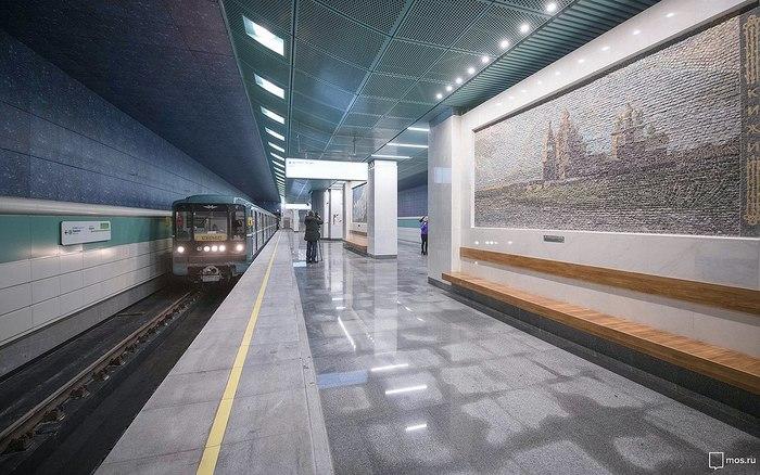 В Москве открылась станция метро «Беломорская» Метро, Москва, Россия, Новая станция, Станция