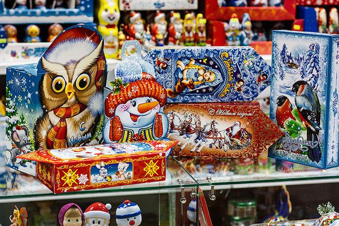 Из чего же, из чего же сделаны... новогодние конфеты Производство, Конфеты, Цикл, Длиннопост