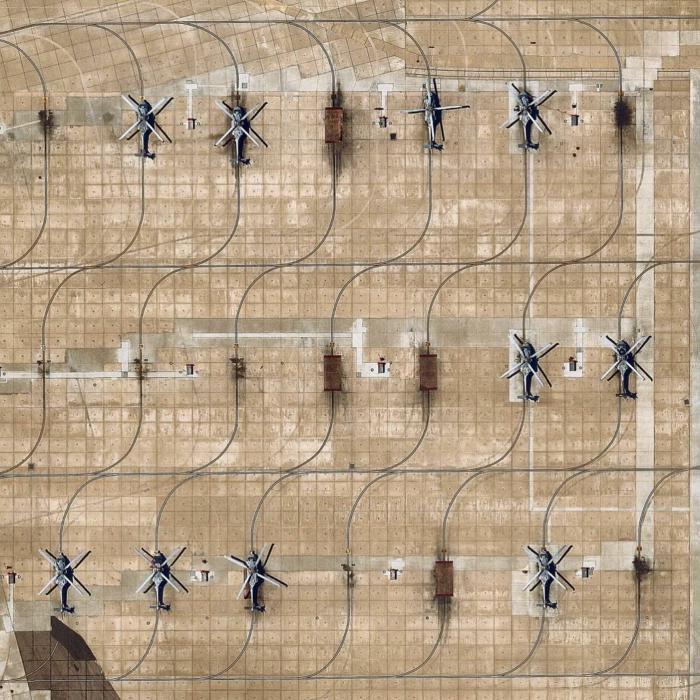 Геометрия Вертолёт, Стоянка, Геометрия, Фотография, Вид сверху, Из сети, Рельсы