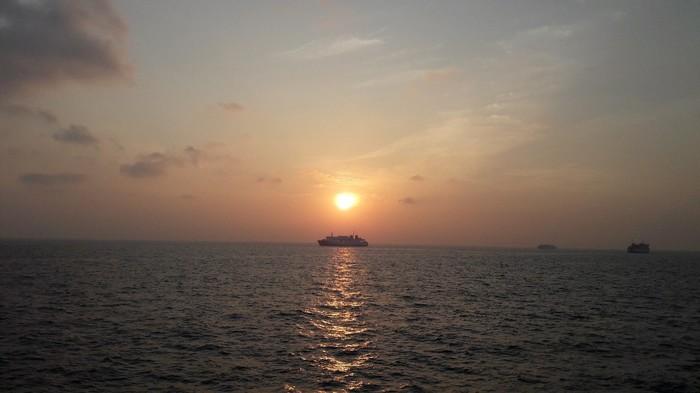 Индонезия. Вулкан. Индонезия, Автостоп, Вулкан, Паром, Море, Длиннопост