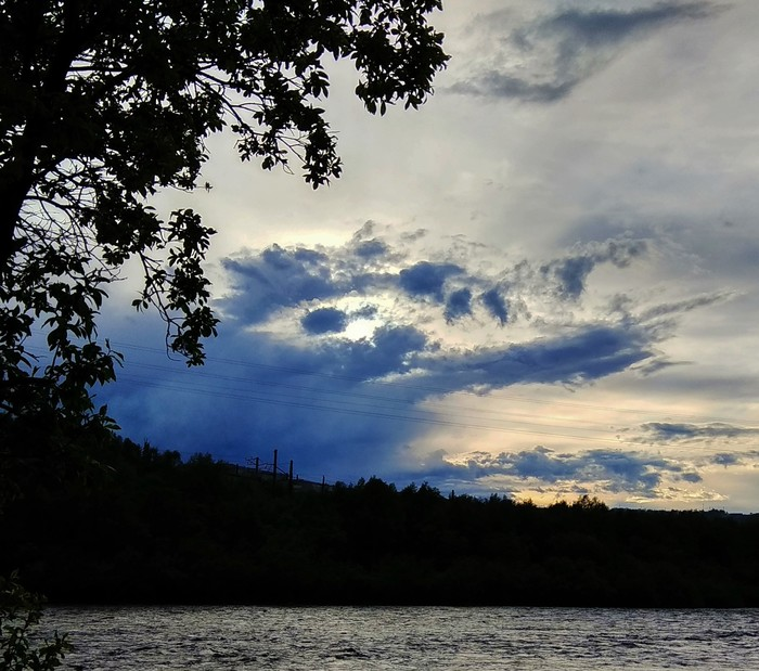 Вода, природа, облака) Начинающий фотограф, Облака, Вода, Природа, Длиннопост, Фотография