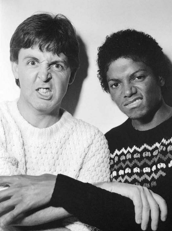 Пол Маккартни и Майкл Джексон, 1983 год