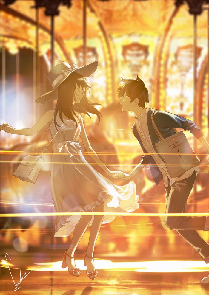 Anime art Anime Art, Anime original