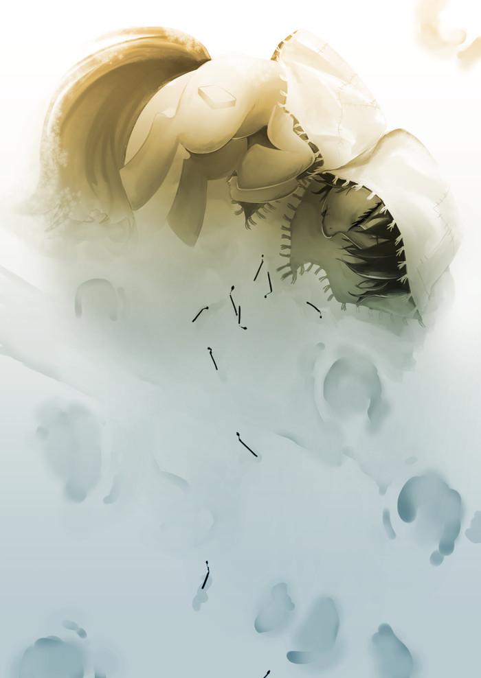 Девочка со спичками My Little Pony, Девочка со спичками, Ганс Христиан Андерсен, MLP Sad, Понификация, GrimDark, GashibokA, Ponyart