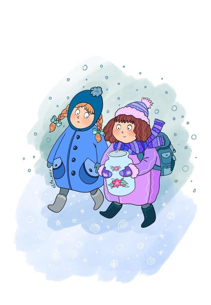 Мои иллюстрации для детской книжки) Иллюстрации, Длиннопост, Художник, Творчество, Рисунок, Procreate