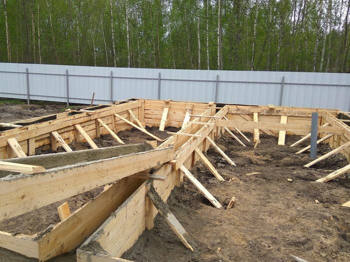 Как я построил дом за год (Часть 5, начало строительства) Каркасный дом, Свой дом, Строительство, Земельный участок, Длиннопост