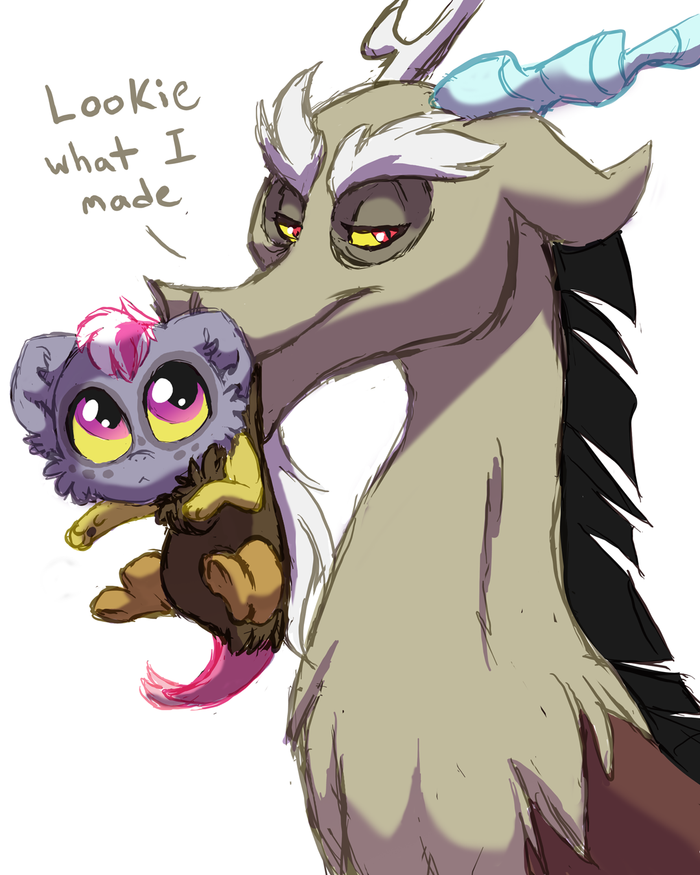 Поколения My Little Pony, Original Character, Discord, Pandora, Lopoddity, Длиннопост, Ponyart