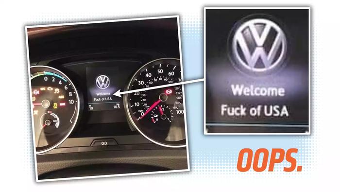 С матерком: Volkswagen e-Golf показал американцам оскорбительное приветствие. Volkswagen, Volkswagen Golf, Курьез, Авто