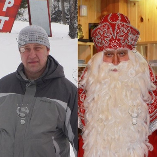 Кто скрывается под маской главного Деда Мороза из Великого Устюга? Дед мороз, Новый год, Разоблачение, Длиннопост