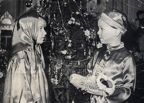 Новогодний сапожок Новый Год, Детский сад, Новогодняя елка, СССР, Детство, Длиннопост