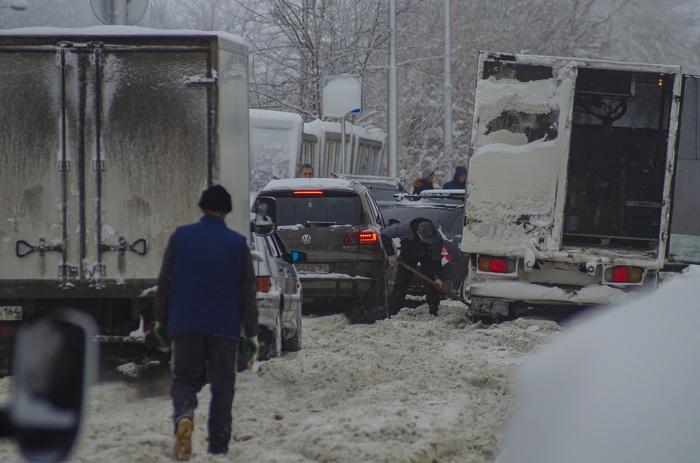 Несколько слов о ситуации в Саратове Саратов, Снег, Пробки, Забота о гражданах, Длиннопост