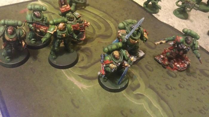 Маленькая армия Wh miniatures, Миниатюра, Коллекция, Warhammer 40k, Длиннопост