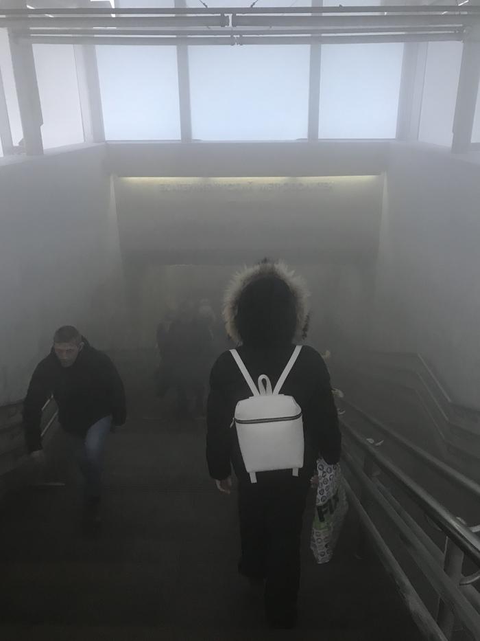 Где то в екатеринбургском метро.