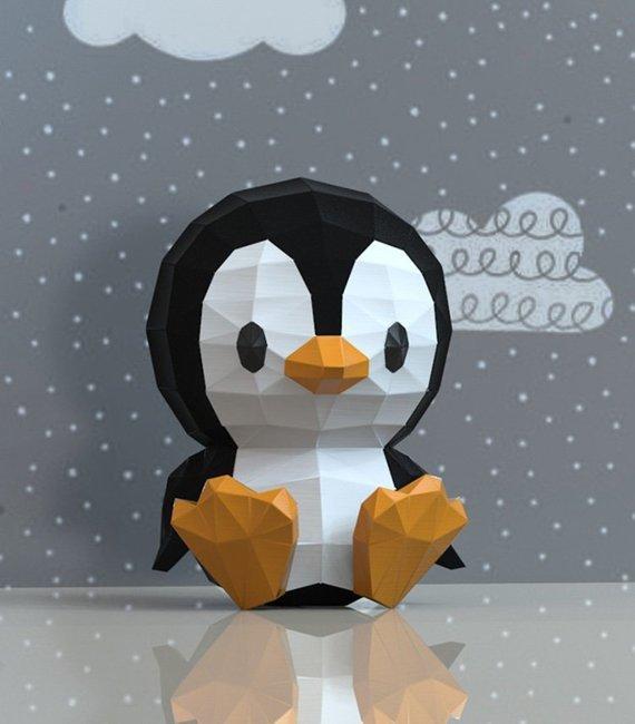 Нужна помощь Помощь, Не лайков ради, Надо очень, Papercraft, Пингвины