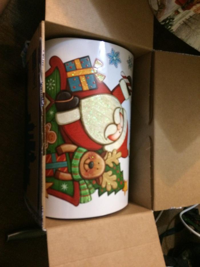 Моя посылка от анонимного Деда Мороза Дед Мороз, Новый Год, Посылка, Длиннопост, Тайный Санта, Отчет по обмену подарками