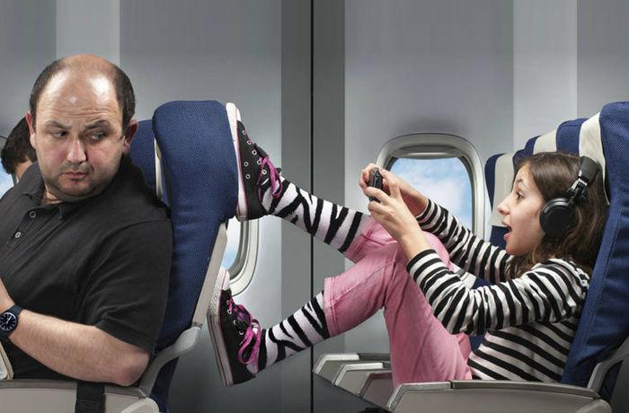Как бороться в самолете с яжмамками и их отпрысками Яжмать, Этожеребенок, Самолет, Полет, Длиннопост