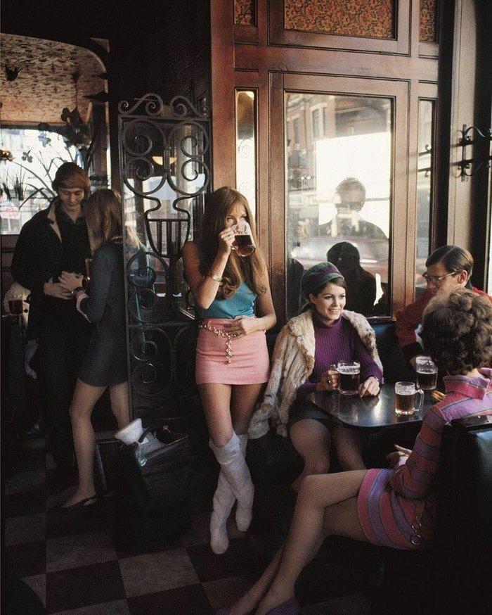 Лондонский паб в 1960-х годах