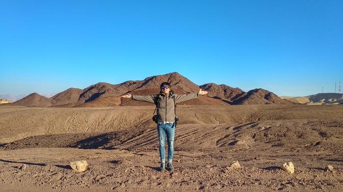 Израиль. Red canyon Автостоп, Израиль, Приключения, Длиннопост