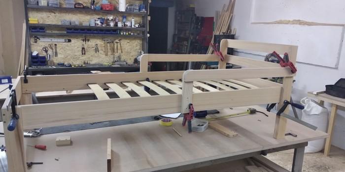 Детская кроватка Длиннопост, Кровать, Своими руками, Изделия из дерева