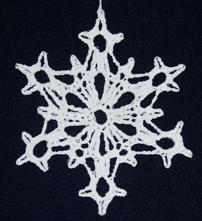 Новогоднее вязание Вязание, Вязание крючком, Шарф, Снежинка, Длиннопост