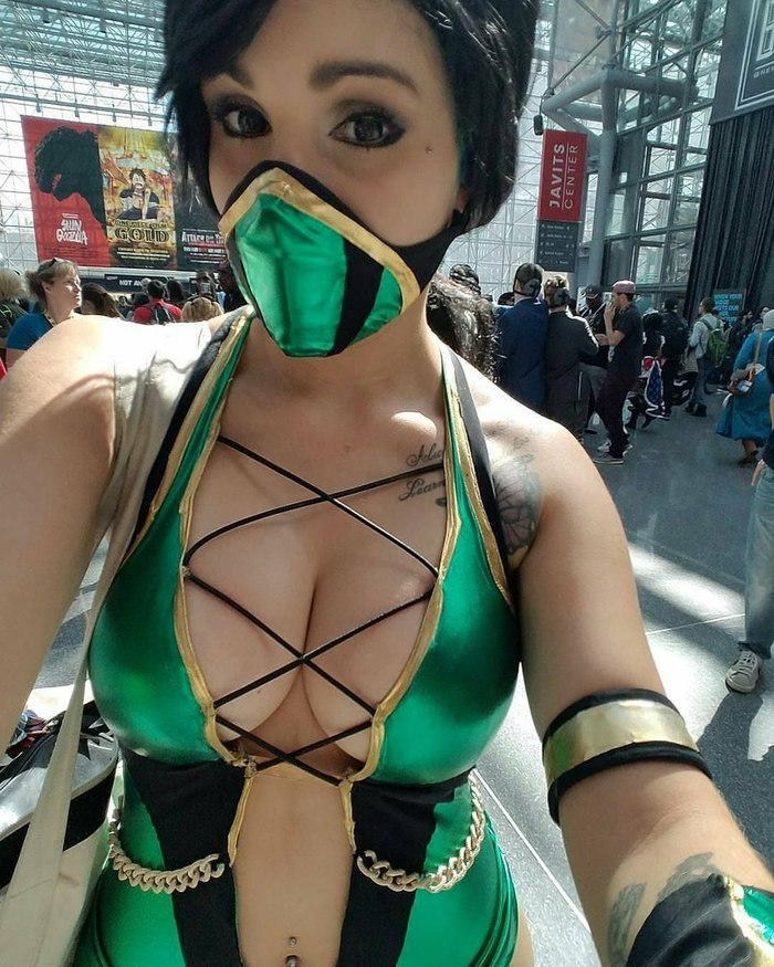 Jade Mortal Combat Mortal Kombat, Mortal Kombat X, Косплей, Костюм, Длиннопост
