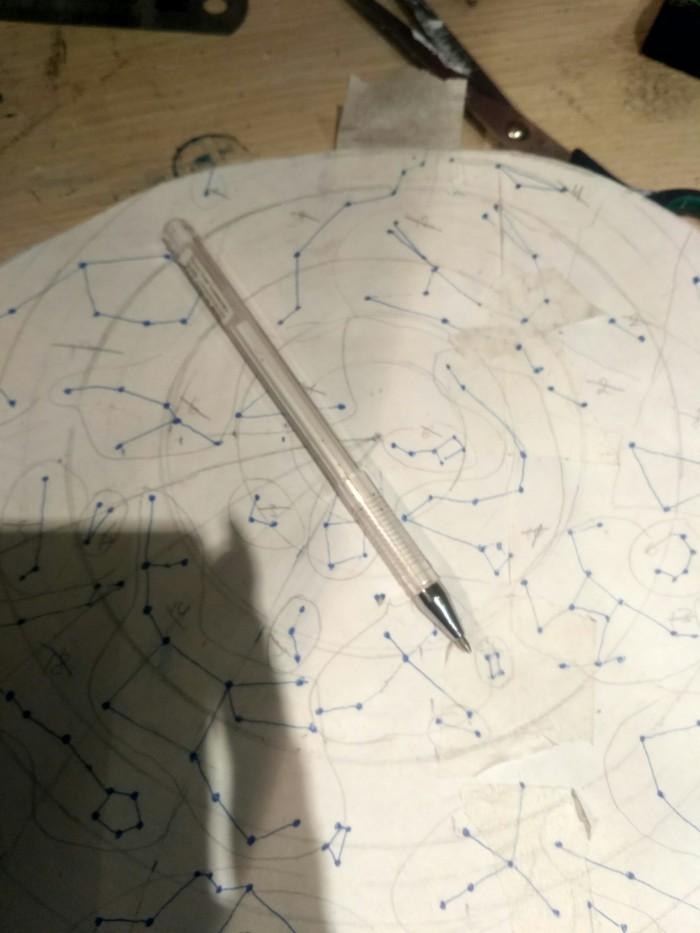 Ночник - звёздное небо Звездное небо, Своими руками, Ночник, Светодиодная лента, Тег, Длиннопост